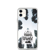Load image into Gallery viewer, Let's Travel the World TPU and PU iPhone Case
