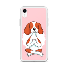 Load image into Gallery viewer, Calm Yoga Doggo TPU and PU iPhone case