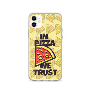 Pizza For President TPU and PU iPhone case