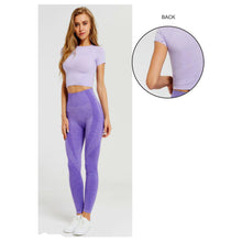 Load image into Gallery viewer, Legging Set | purple color