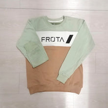 Load image into Gallery viewer, Sweatshirt | green and brown