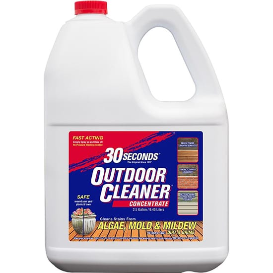 30 Seconds 2.5 Gal. Outdoor Cleaner Concentrate