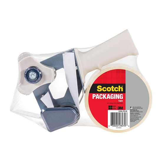 3M 1.88 in. x 109 yds. (48 mm x 100 m) Packaging Tape with Dispenser