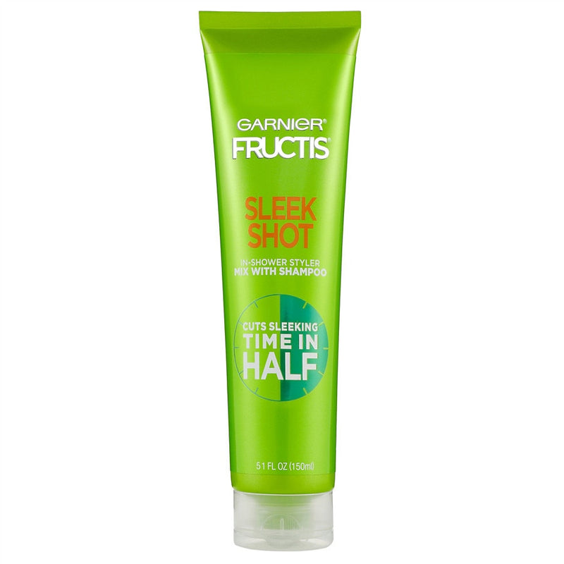 Garnier Fructis Sleek Shot In-Shower Styler to Cut Sleeking Time in Half