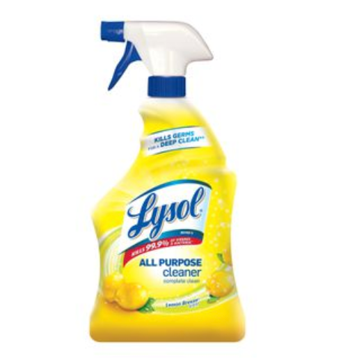 Lysol All-Purpose Cleaner, Lemon Breeze Scent 32oz