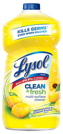 Lysol Clean & Fresh Multi-Surface Cleaner Lemon & Sunflower 40 Ounce