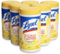 Lysol 80-Count Lemon and Lime Blossom Scent Disinfecting Wipes (Membership Required) 6-PACK CASE