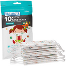 Dr. Talbot's Disposable Kid's Face Mask for Health Protection by Dr. Talbot's 10 Pack Girl or Boy