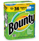 Bounty Select-A-Size Triple Roll Paper Towels 12 pk - White