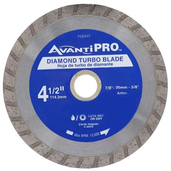 Avanti Pro 4-1/2 in. Turbo Diamond Blade