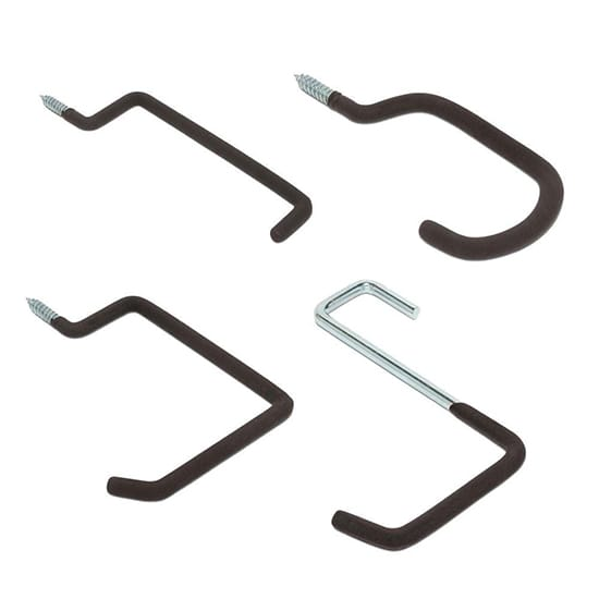 Everbilt Heavy-Duty Multi-Use Garage Screw-In Hooks Value Pack (8-Pack)