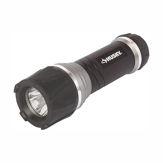 Husky 200 Lumens LED Virtually Unbreakable Aluminum Flashlight