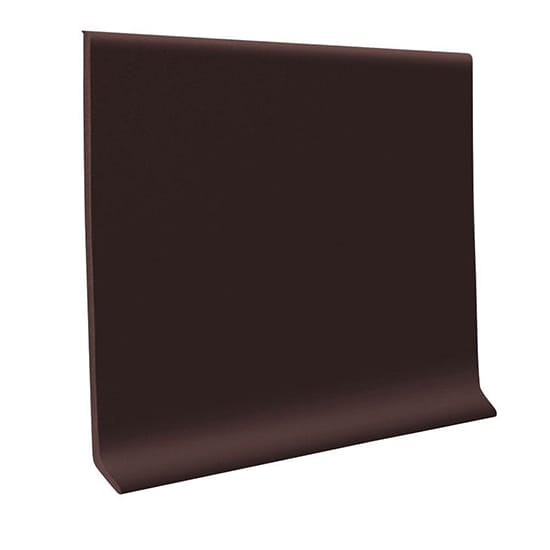 ROPPE 700 Series Brown 4 in. x 1/8 in. x 120 ft. Thermoplastic Rubber Wall Cove Base Coil