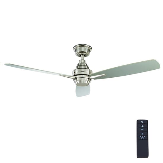 Home Decorators Collection Samson Park 52 in. Indoor Brushed Nickel Ceiling Fan with Remote Control
