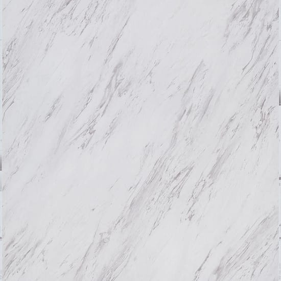 TrafficMASTER Carrara Marble 12 in. x 24 in. Peel and Stick Vinyl Tile (20 sq. ft. / case)