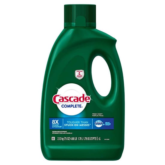 Cascade Complete 75 oz. Fresh Scent Dishwasher Gel with Dawn