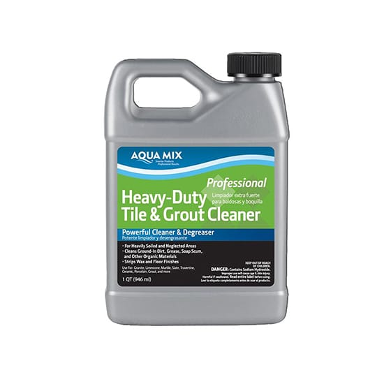 Custom Building Products Aqua Mix 1 Qt. Heavy-Duty Tile and Grout Cleaner