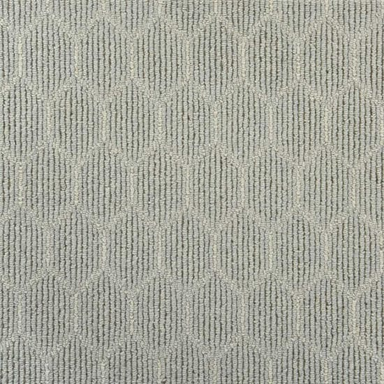Natural Harmony Entanglement Dew/Ivory Custom Rug with Pad
