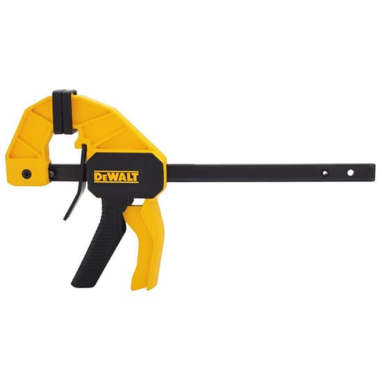 DEWALT 6 in. 100 lbs. Trigger Clamp with 2.43 in. Throat Depth