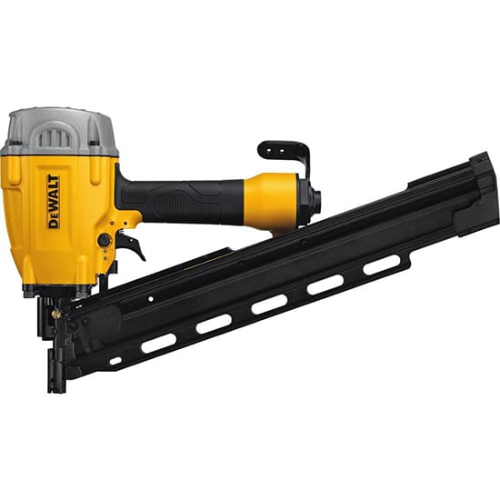 DEWALT Pneumatic 21-Degree Collated Framing Nailer