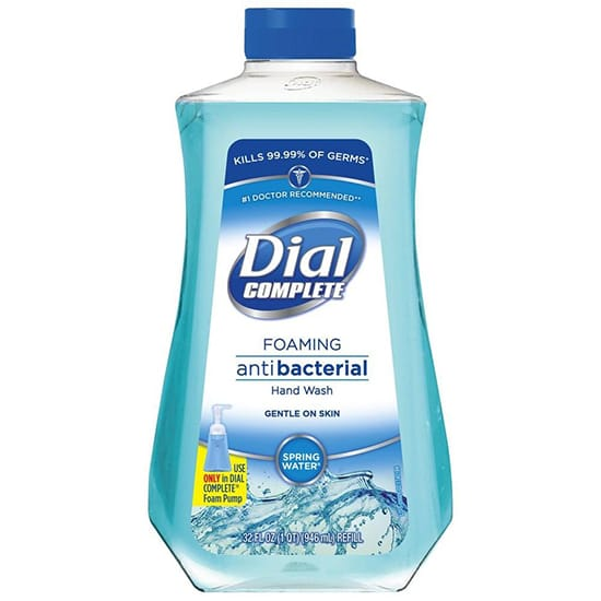 DIAL 32 oz. Foaming Hand Soap Spring Water Refill