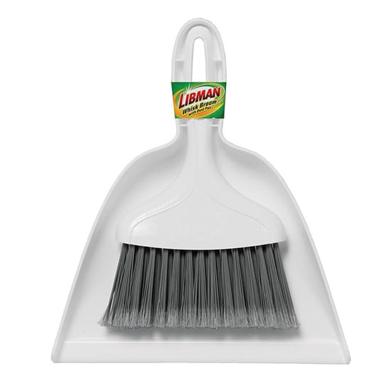 Libman 10 in. Whisk Broom and Dust Pan Set