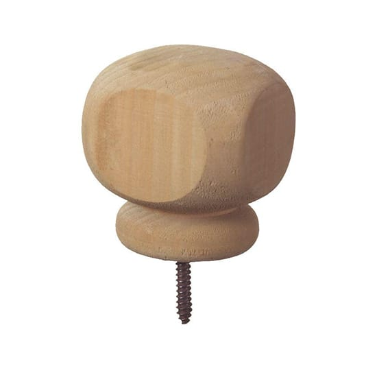 4 in. x 4 in. Pressure-Treated Finial