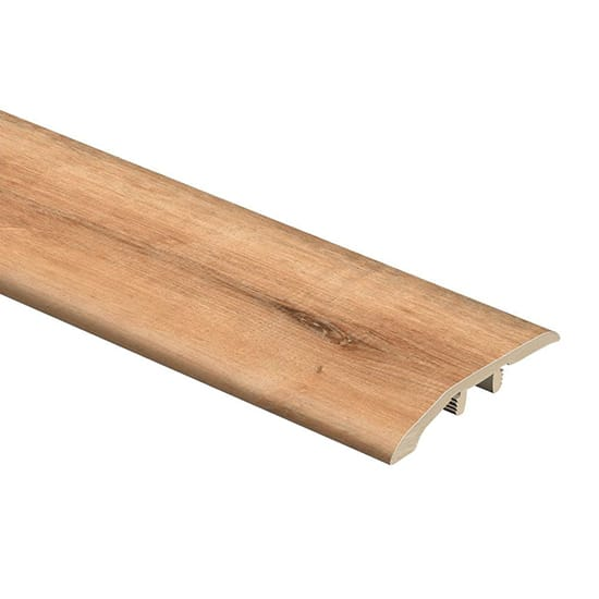 Zamma Fresh Oak/Elk Wood 1/3 in. Thick x 1-13/16 in. Wide x 72 in. Length Vinyl Multi-Purpose Reducer Molding