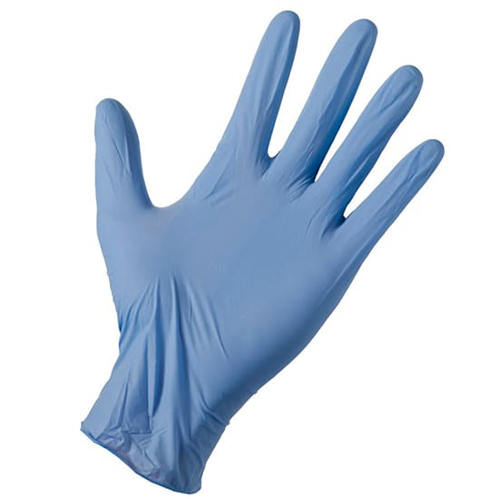 Grease Monkey Disposable Nitrile Cleaning Gloves, Fits All (20-Count)