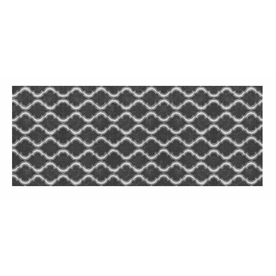 TrafficMASTER Trellis Grey 2 ft. 6 in. x 4 ft. Accent Rug
