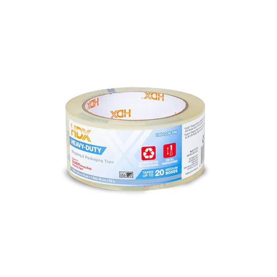 HDX 1.88 in. x 55 yds. Clear Heavy Duty Shipping Packing Tape