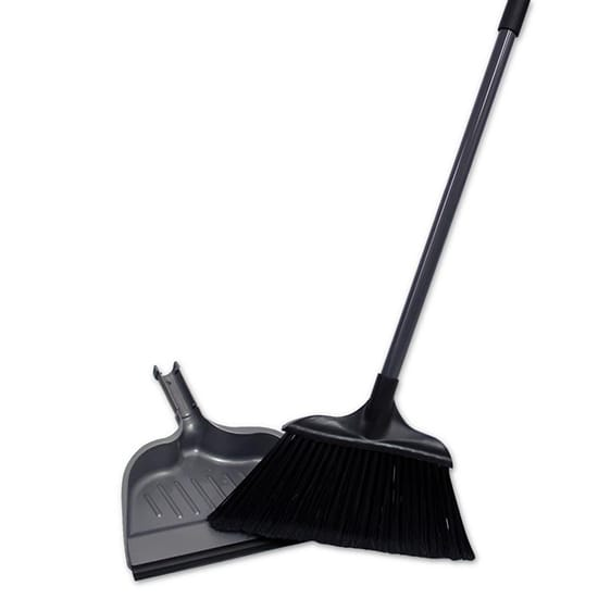 HDX Jumbo 15 in. Angle Broom with Dustpan