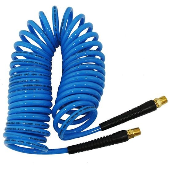 Husky 1/4 in. x 25 ft. Polyurethane Recoil Hose