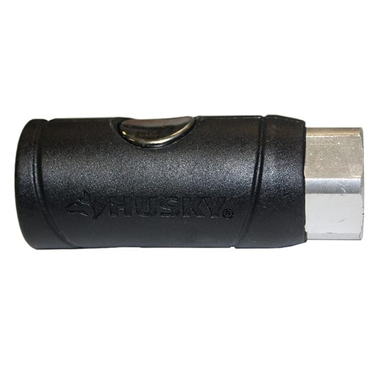 Husky 1/4 in. Female Safety Coupler