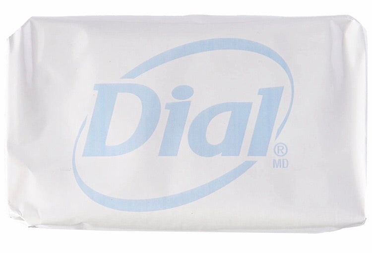 Antibacterial Dial Deodorant Soap 4oz (Pack of 8 bars)