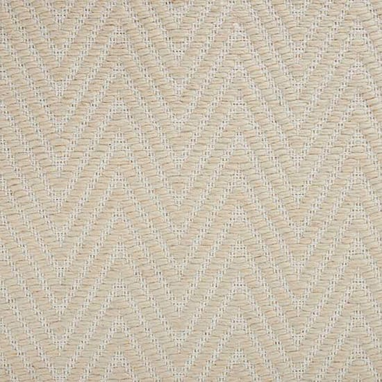 Natural Harmony Ziggy Ivory Custom Area Rug with Pad