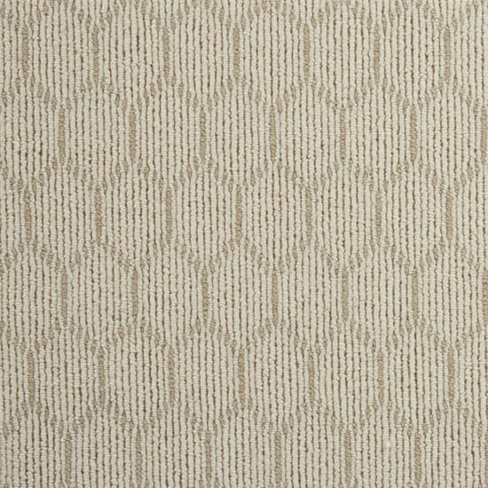 Natural Harmony Entanglement Ivory/Plains Custom Rug with Pad