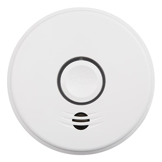 Kidde Hardwire Smoke Detector with 10-Year Battery Backup and Intelligent Wi-Fi Voice Interconnect