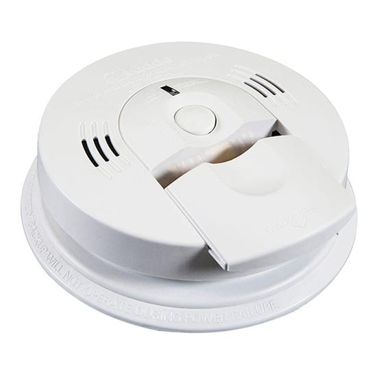 Kidde Battery Operated Smoke and Carbon Monoxide Combination Detector with Voice Alarm and Intelligent Hazard Sensing