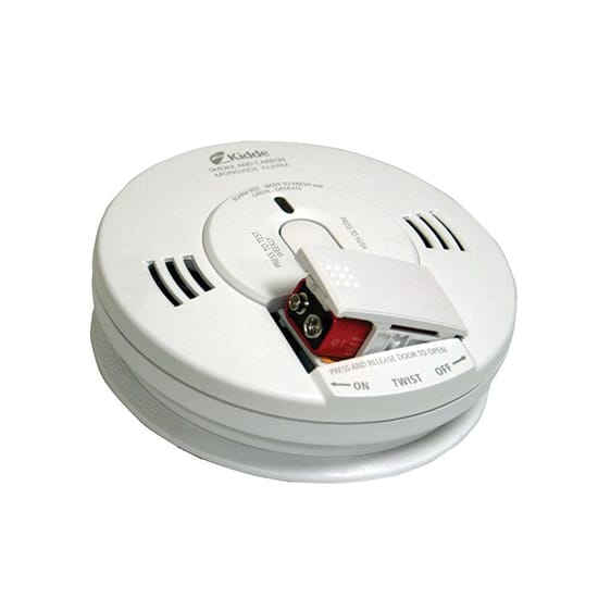 Kidde Battery Operated Smoke and Carbon Monoxide Combination Detector with Voice Alarm and Photoelectric Sensor