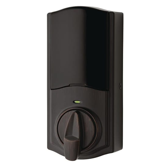 Kwikset Convert Smart Lock Venetian Bronze Conversion Kit featuring Z-Wave Technology