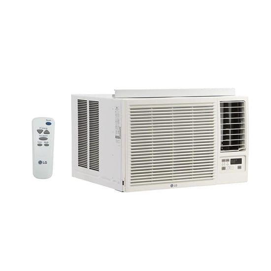 LG Electronics 12,000 BTU 230/208-Volt Window Air Conditioner with Cool, Heat and Remote