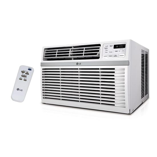 LG Electronics 15,000 BTU 115-Volt Window Air Conditioner with Remote and ENERGY STAR in White