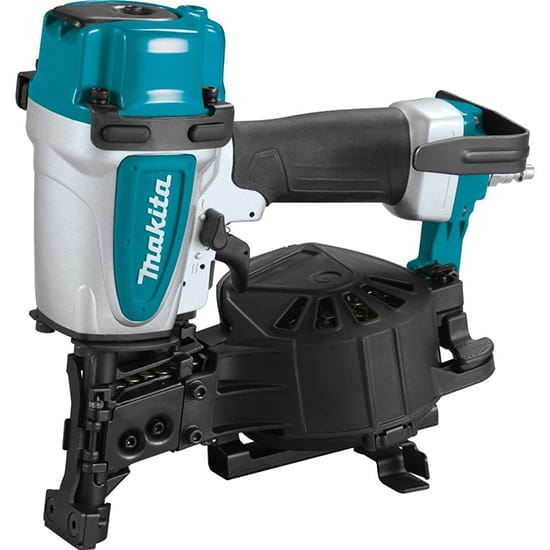 Makita 15 Degree 1-3/4 in. Pneumatic Coil Roofing Nailer