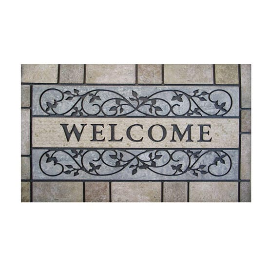 TrafficMASTER Welcome Stone 24 in. x 36 in. Door Mat