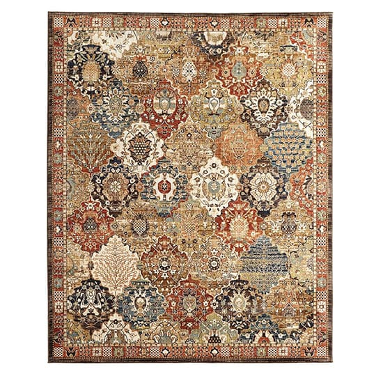 Home Decorators Collection Patchwork Medallion Multi 8 ft. x 10 ft. Area Rug
