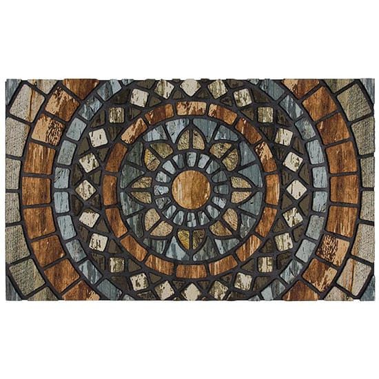 TrafficMASTER Circles 18 in. x 30 in. Door Mat