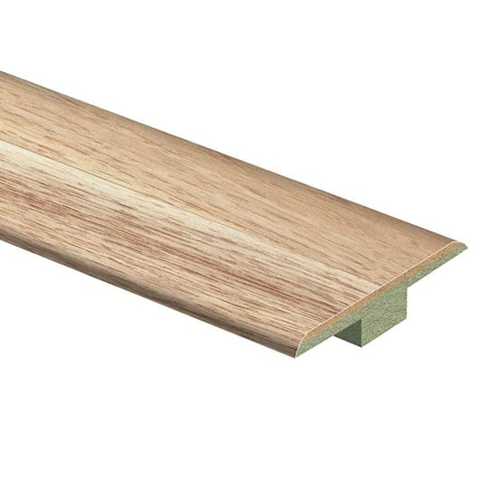 Zamma Natural Hickory 7/16 in. Thick x 1-3/4 in. Wide x 72 in. Length Laminate T-Molding