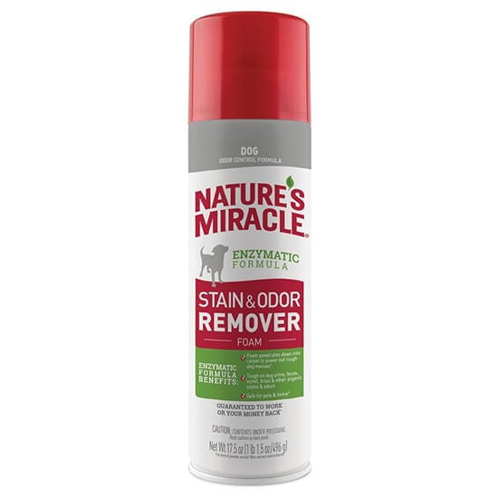 Nature's Miracle 17.5 Oz. Dog Stain and Odor Remover Foaming Aerosol