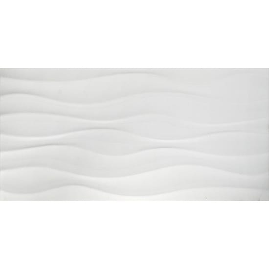 MSI Onda Blanco 12 in. x 24 in. Glazed Ceramic Floor and Wall Tile (16 sq. ft. / case)